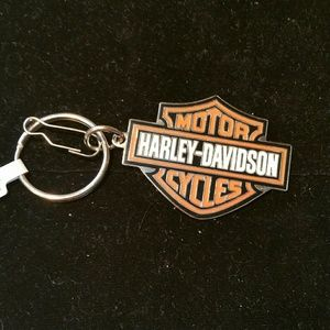 Harley Davidson pendant key chain